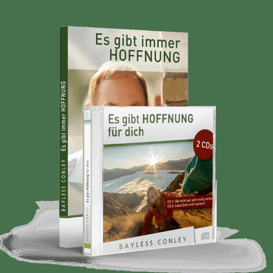 """Set """"Für dich gibt es neue Hoffnung"""" – Minibuch + 2 CDs/2 DVDs"""