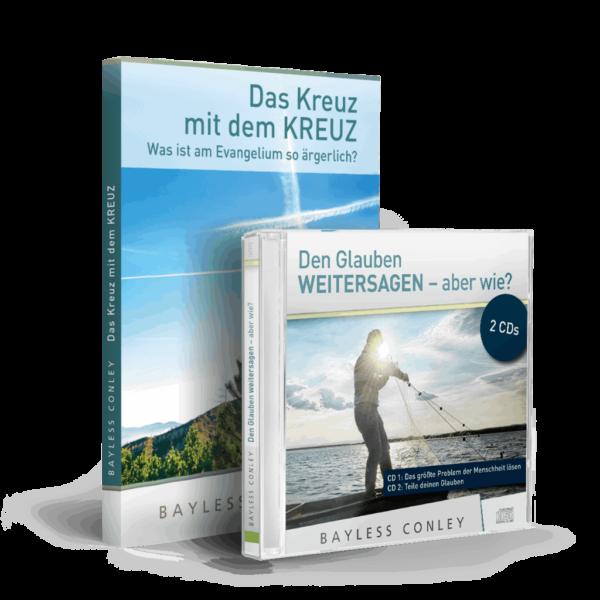"""Set """"Weitersagen"""" – Minibuch + 2 CDs/DVDs 1"""